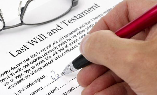 will law wills and estates legal services